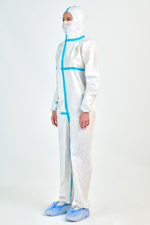 PROTECTIVE COVERALL TYPE 3-4 MY 7314